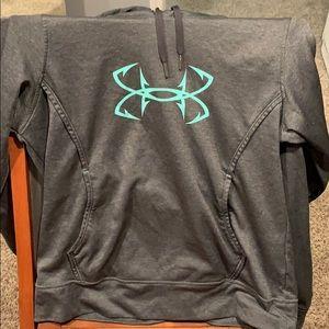 Dark get Under Armor hoodie